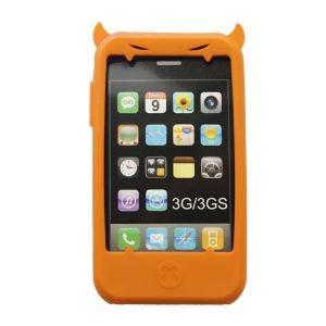 Чехол для iPhone Чертик для 3G в оранжевом