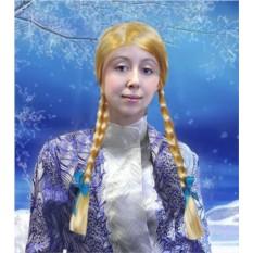 Карнавальный парик для Снегурочки