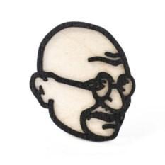 Значок WafWaf Махатма Ганди