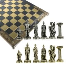 Металлический шахматный набор Троя