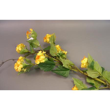 Цветок искусственный «Жёлтый куст»