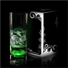 Зеленый светящийся бокал Longdrink