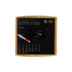 Настенные часы с календарем Лучший день