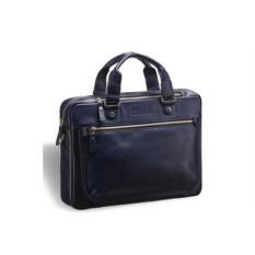 Деловая синяя сумка Brialdi York