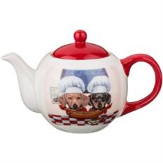 Заварочный чайник Таксы-поварята