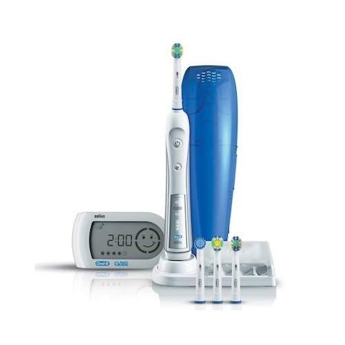 Электрическая зубная щетка Oral-B Professional Care 5000 D34.545.5X Triumph TriZone