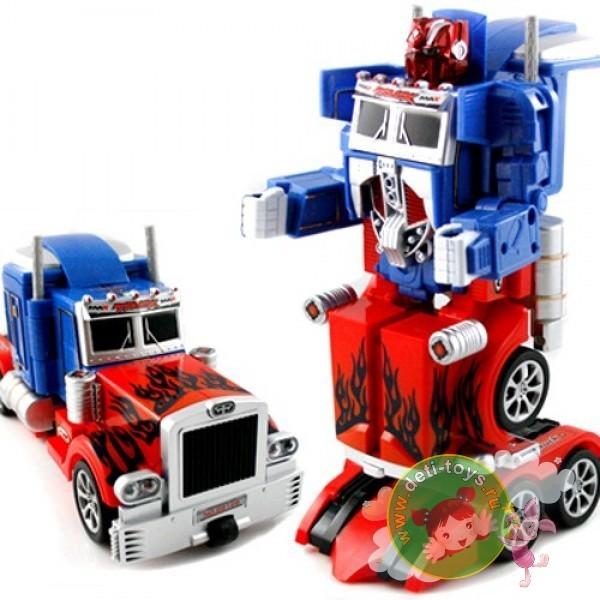 Радиоуправляемый робот-трансформер Оптимус Прайм