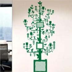 Интерьерная наклейка Офисное дерево