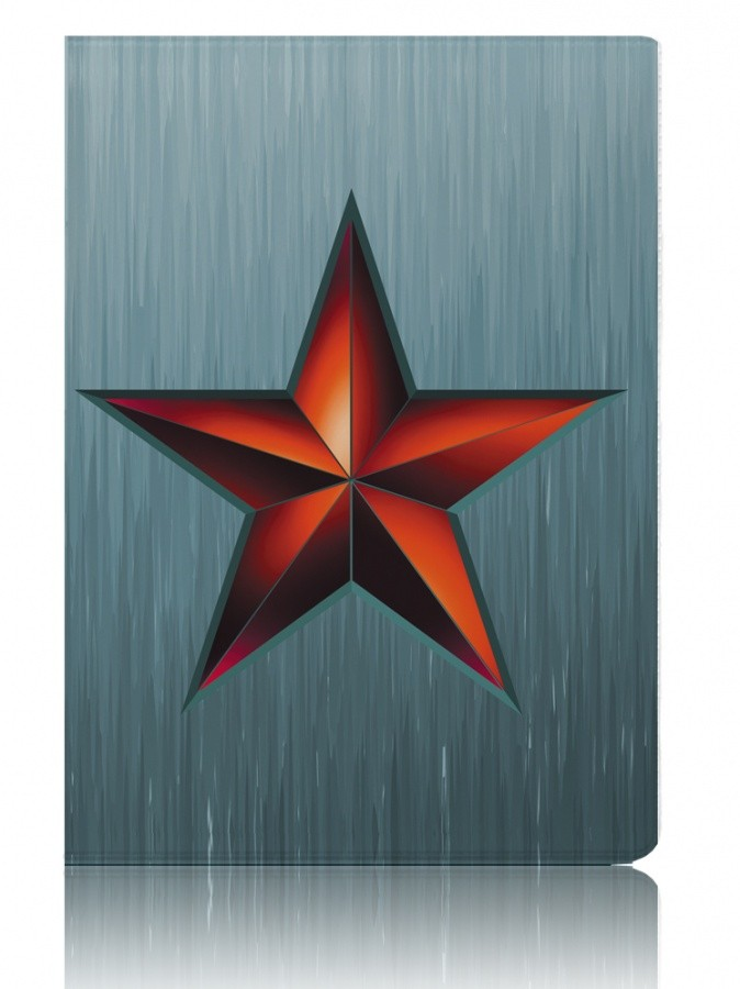 Обложка для паспорта Звезда красная
