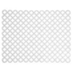Прозрачная подложка для раковины Meridian