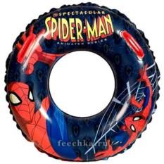 Плавательный круг с ручками Spiderman