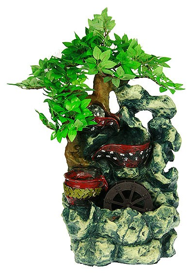 Декоративный фонтан Бонсай