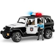 Внедорожник Jeep Wrangler Полиция с фигуркой