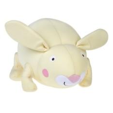 Мягконабивная игрушка Зайка (цвет - лимонный)