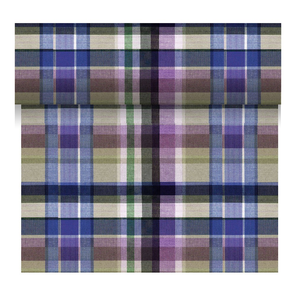 Дорожка для стола 3 в 1 Purple check