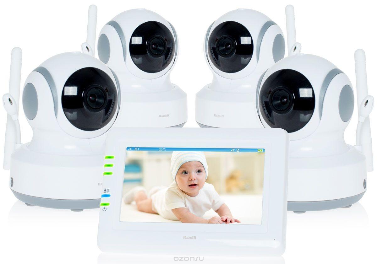 Видеоняня Ramili Baby RV900X4 White