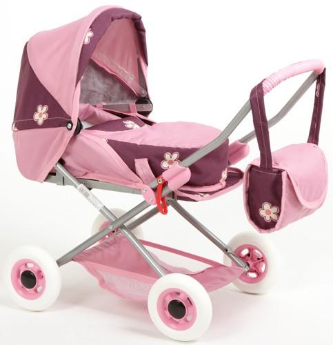 Кукольная коляска Wakart Ева