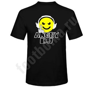 Футболка Angry DJ