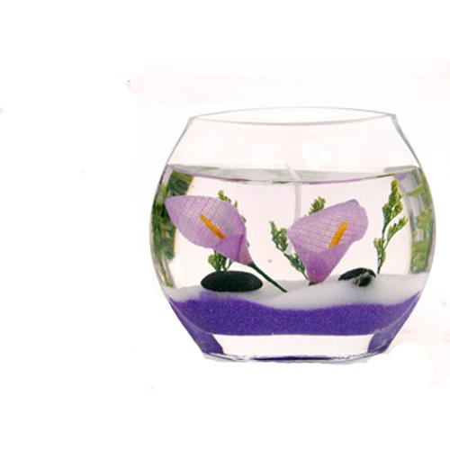 Свеча гелевая «Фиолетовая»