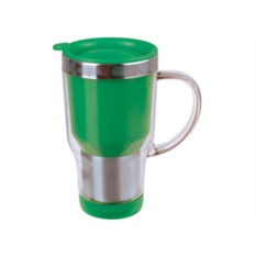 Зеленая термокружка