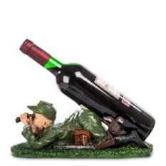 Статуэтка-подставка под бутылку Охотник