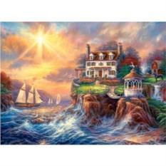 Пазл Дом на берегу