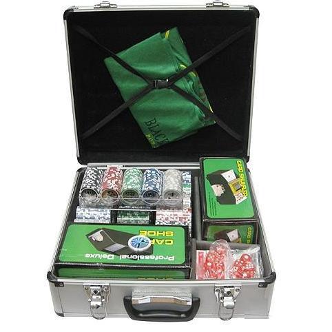 Покер 600 фишек с номиналом+2 машины