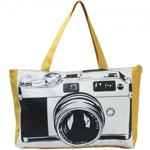 Сумка-фотоаппарат (желтая)