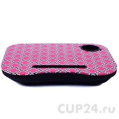 Столик для ноутбука с подушкой Розовые блики CANDY PINK