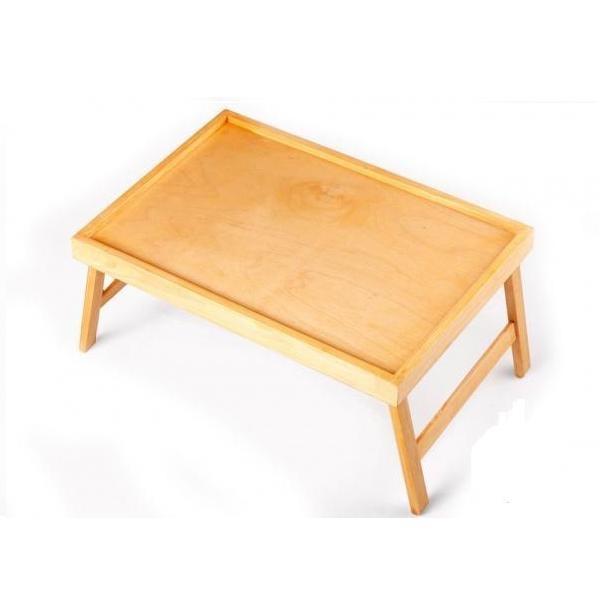 Столик для завтрака в постель светлый