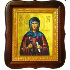 Анастасия Патрикия Преподобная. Икона на холсте.