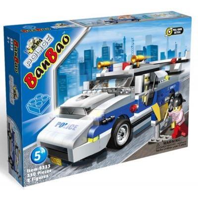 Конструктор BanBao Полицейская машина