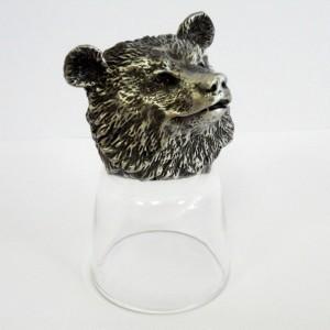 Стопка-перевертыш Медведь в подарочной коробке
