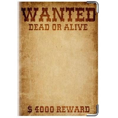 Обложка для паспорта Wanted