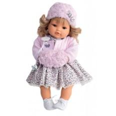 Плачущая кукла-малыш Белла в розовом