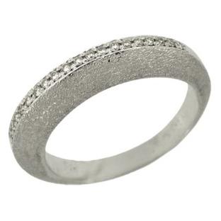 Кольцо с 20-ю бриллиантами