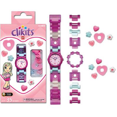 Детские часы LEGO Clikits Heart