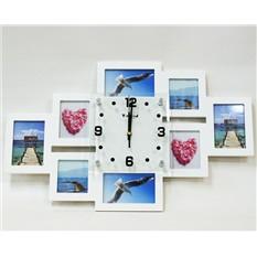 Часы- фоторамки Семейный коллаж