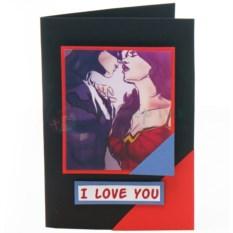 Открытка Бэтмен и Чудо-женщина