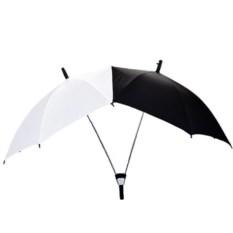 Черно-белый зонт для влюбленных Сближающий