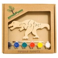 Развивающая игрушка Тираннозавр Рекс с красками