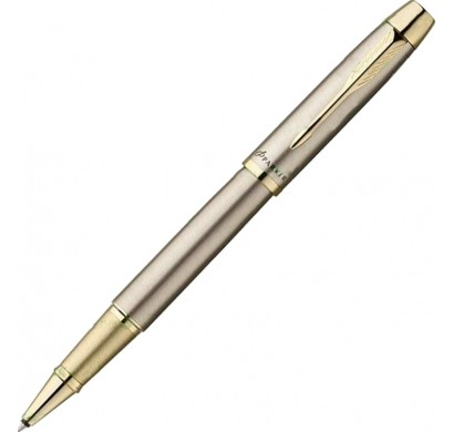 Ручка PARKER IM BRUSHED METAL GT роллер