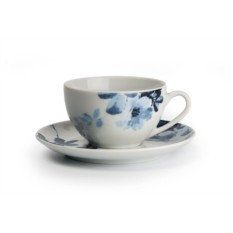 Набор набор чайных пар на 6 персон JARDIN BLEU MONALISA