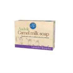 Мыло ручной работы из верблюжьего молока Лаванда и жожоба