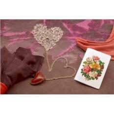 Обложка для паспорта/автодокументов Букет роз