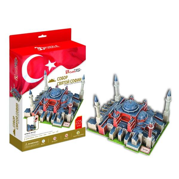 3D пазл Cubic Fun Собор Святой Софии (Турция)