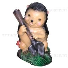 Декоративная фигурка Ежик с лопатой