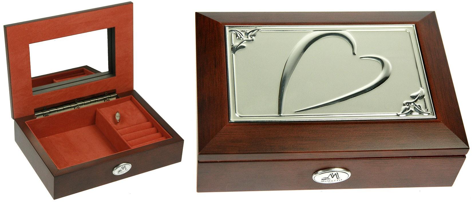 Шкатулка ювелирная MORETTO, музыкальная   Шкатулки для украшений dbf5770cbbc