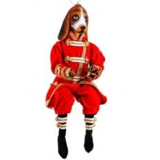 Фигурка Собака в костюме (высота 35.6 см)