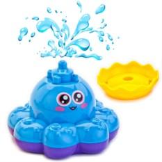 Игрушка для ванны «Фонтан-осьминожка» (цвет: голубой)